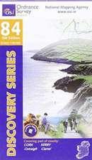Irish Discovery Series 84. Cork, Kerry 1 : 50 000