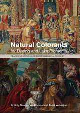 Natural Colorants for Dyeing and Lake Pigments
