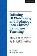 Infusing Ib Philosophy and Pedagogy Into Chinese Language Teaching:  Have a Bigger Say in Your Child's School Day