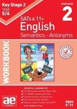 KS2 Semantics Year 5/6 Workbook 2 - Antonyms