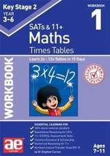 KS2 Times Tables Workbook 1