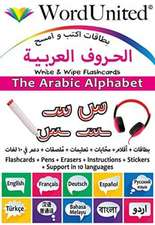 The Arabic Alphabet : Write & Wipe Flashcards