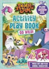ACTIVITY PLAY BOOK GOLD WILD