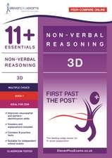 11+ ESSENTIALS NON-VERBAL REASONING 3D 1