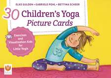 30 Children's Yoga Picture Cards