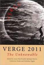 Verge 2011: The Unknowable