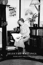 Selected Writings - Margaret Preston