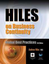 Hiles on Business Continuity