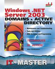 Windows .Net Server 2003 Domains & Active Directory