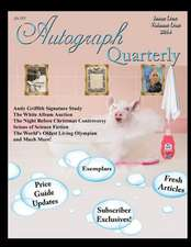Autograph Quarterly Volume 1 2014