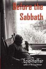 Before the Sabbath