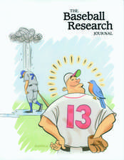 The Baseball Research Journal (BRJ), Volume 34