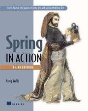 Spring in Action:  Developing RESTful Web APIs in Java