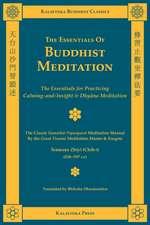 The Essentials of Buddhist Meditation