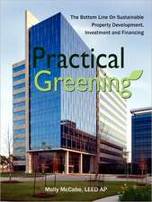 Practical Greening, the Bottom Line on Sustainable Property Development, Investment and Financing