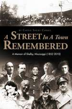 A Street in a Town Remembered