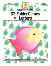 37 Foldergames for Letters