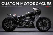 Custom Motorcycle Bike EXIF Calendar 2019