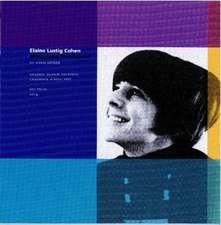 Elaine Lustig Cohen – Modernism Reimagined