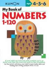 Kumon: My Book of Numbers 1-120