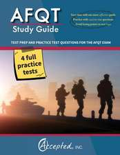 Afqt Study Guide 2016:  Afqt Test Prep and Practice Questions