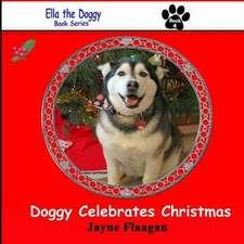Doggy Celebrates Christmas