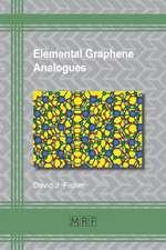 Elemental Graphene Analogues