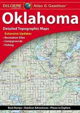 Delorme Oklahoma Atlas & Gazetteer