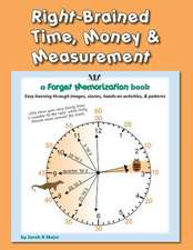 Right-Brained Time, Money, & Measurement