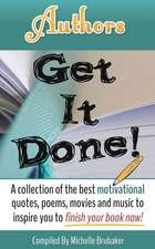 Authors Get It Done!