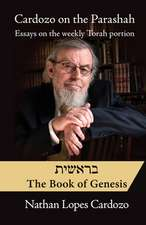 Cardozo on the Parashah: Bereshit Essays on the Weekly Torah Portion