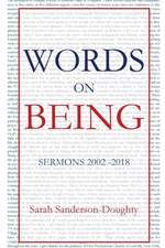 Words on Being