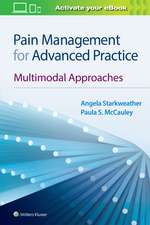 Pain Management for Advanced Practice: Multimodal Approaches