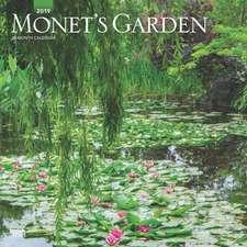 Monet'S Garden 2019 Square Wall Calendar
