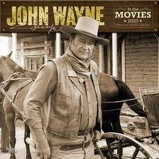 John Wayne in the Movies 2020 - 18-Monatskalender
