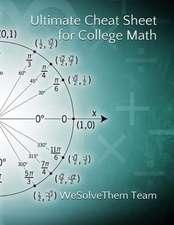 Ultimate Formula Sheet for College Math