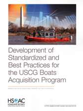 Development of Standardized and Best Practices for the USCG Boats Acquisition Program