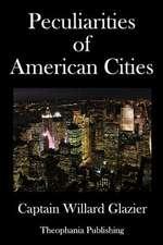Peculiarities of American Cities
