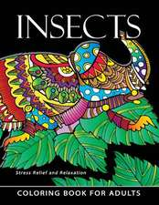 Insect Coloring Books for Adults