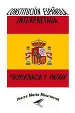 Constitucion Espanola Interpretada