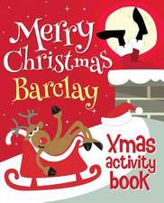 Merry Christmas Barclay - Xmas Activity Book