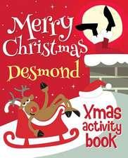 Merry Christmas Desmond - Xmas Activity Book