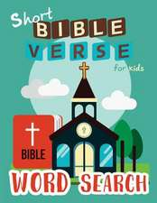 Short Bible Verse Word Search for Kids