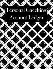 Personal Checking Account Ledger