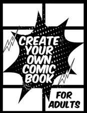 Create Your Own Comic Book for Adults