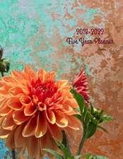 2018 - 2022 Dahlia Five Year Planner