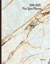 2018 - 2022 Marble Five Year Planner