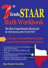 7th Grade Staar Math Workbook 2018