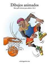 Dibujos Animados Libro Para Colorear Para Adultos 1 & 2