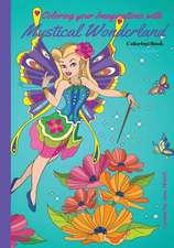 Coloring Your Imaginations with Mystical Wonderland Coloring Book